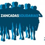 Logo de la carrera Zancadas Solidarias 2017