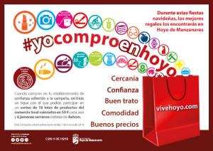 Imagen corporativa de la campaña YoComproenHoyo