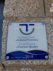 Compromiso calidad turística Hoyo de Manzanares