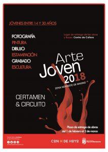 cartel circuito arte joven 2018
