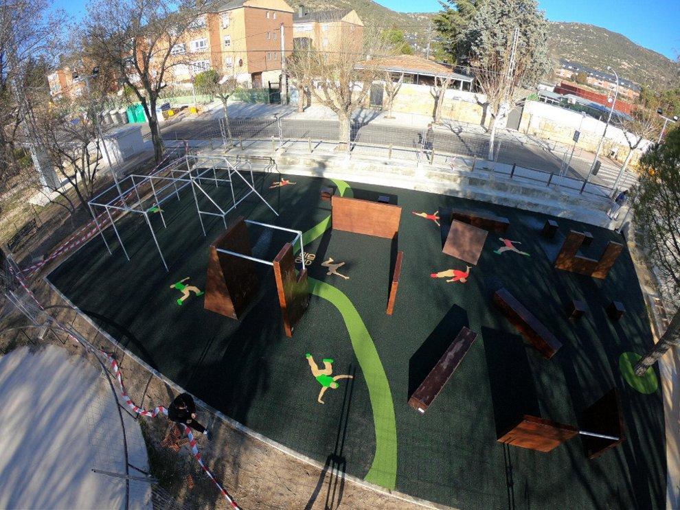 Inauguración Del Parkour Un Nuevo Espacio De Ocio Para Los Jóvenes Ayuntamiento Hoyo De Manzanares