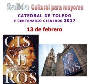 Salida cultural mayores visita Toledo