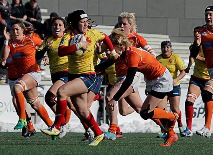 Alba Vinuesa García, selección española rugby