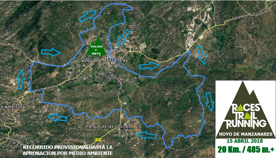 Recorrio 20 Km Races Trail Running