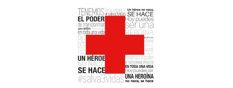 Donación de sangre Cruz Roja