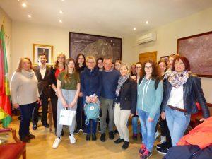 Visita estudiantes austriacos