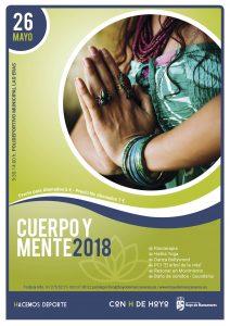 Cartel Cuerpo y Mente 2018