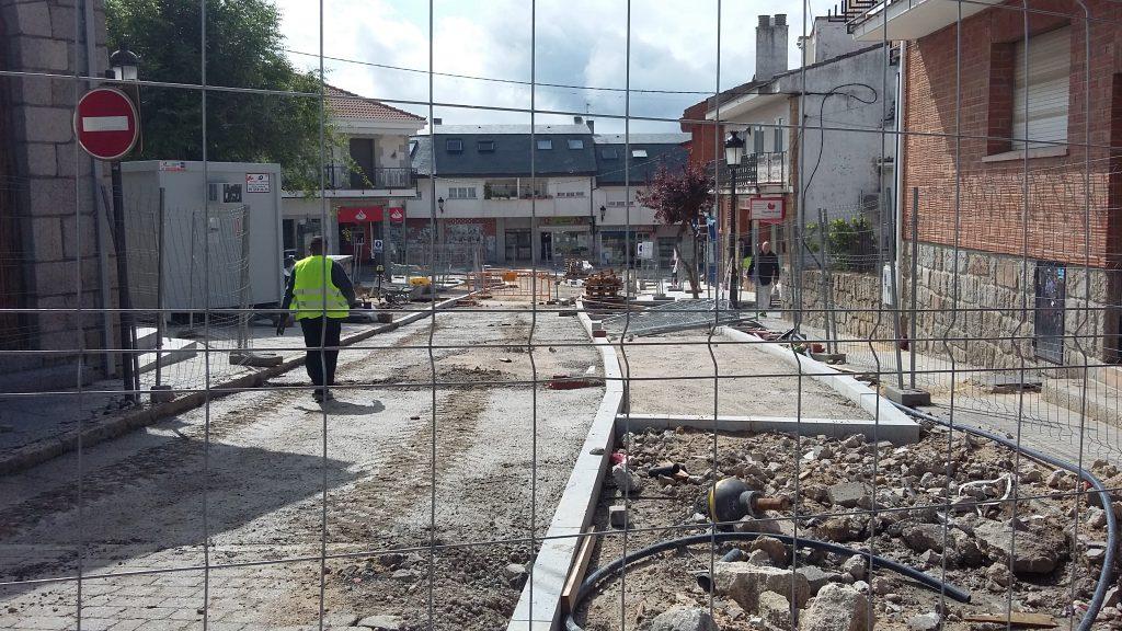 Plan de obras Plaza Iglesia y Constitución