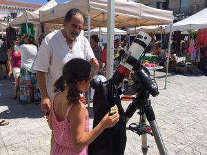 mercado ecologico y observacion solar