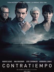 """Buenas noches de cine: cartel de la película """"Contratiempo"""""""
