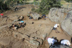 excavación yacimiento la cabilda