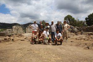 voluntarios excavación arqueológica