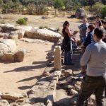 visita al yacimiento arqueológico de La Cabilda