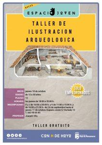 Taller ilustración arqueológica