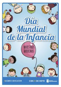 cartel dia mundial de la infancia