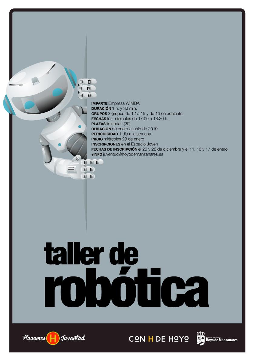 Cartel taller robotica