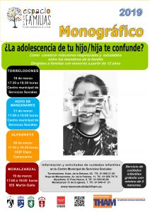 Espacio para familias: adolescencia