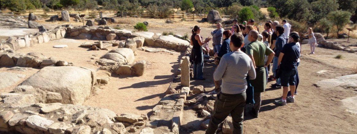 Visita al yacimiento de La Cabilda