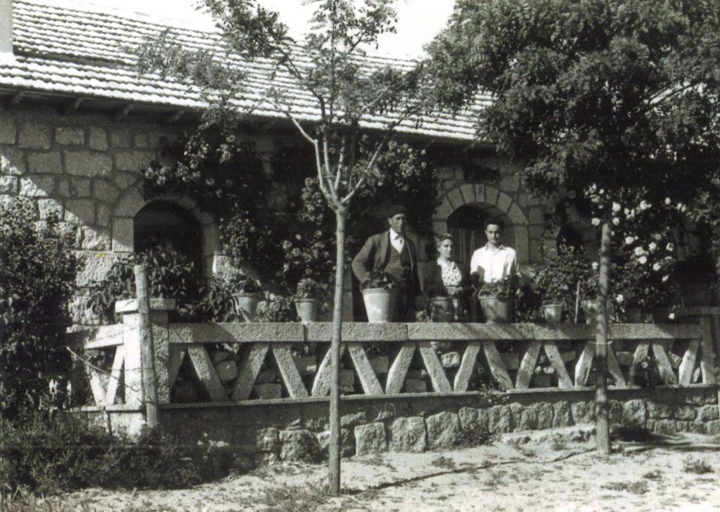 Chalé donde se ubicó la Pensión La Paca (foto cedida por la familia Segovia)