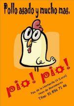Asador de pollos y comida para llevar PÍO PÍO!